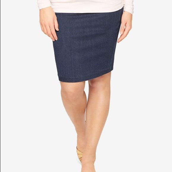 d11ead696dd1c A Pea in the Pod Dresses & Skirts - A Pea in The Pod Denim Maternity